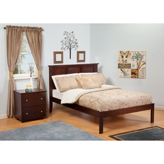 Buy Atlantic Furniture Urban Lifestyle Madison Twin Bed w/ Open Foot Rail on sale online