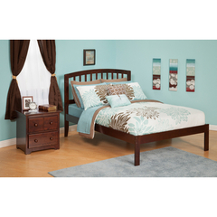 Buy Atlantic Furniture Urban Lifestyle Richmond Queen Bed w/ Open Foot Rail on sale online