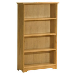 Buy Atlantic Furniture Windsor Bookshelf 55 Inch in Natural Maple on sale online