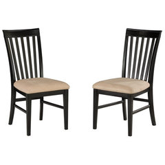 Buy Atlantic Furniture Mission Dining Chair w/ Oatmeal Seat Cushions (Set of 2) on sale online