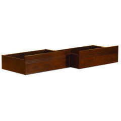 Buy Atlantic Furniture Queen/King Flat Panel Drawers in Antique Walnut on sale online