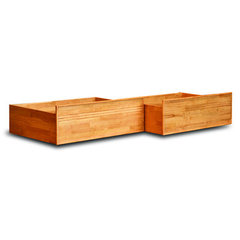 Buy Atlantic Furniture Queen/King Flat Panel Drawers in Natural Maple on sale online