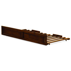Buy Atlantic Furniture Twin Raised Panel Trundle in Antique Walnut on sale online