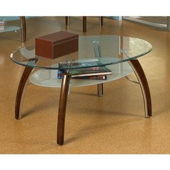 Buy Steve Silver Atlantis 48x32 Cocktail Table in Cherry on sale online