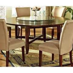 Buy Steve Silver Avenue 72 Inch Round Dining Table on sale online