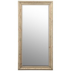 Buy Cooper Classics Baker Mirror in Light Natural Rustic Wood on sale online
