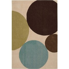 Buy Chandra Rugs Bense Garza Hand-Tufted Contemporary Brown Rug - BEN3024 on sale online