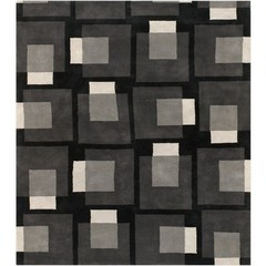 Buy Chandra Rugs Bense Garza Hand-Tufted Contemporary Grey Rug - BEN3009 on sale online