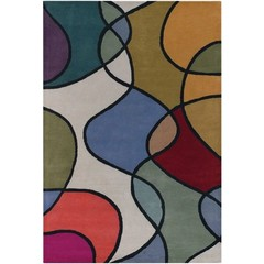 Buy Chandra Rugs Bense Garza Hand-Tufted Contemporary Rug - BEN3011 on sale online