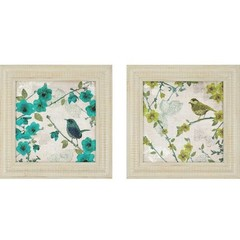 Buy Paragon Birds 25x25 Framed Wall Art (Set of 2) on sale online