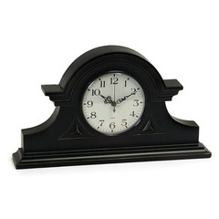 Buy IMAX Worldwide Black Mantel Clock on sale online