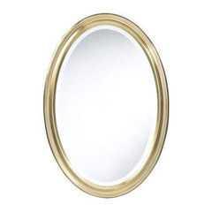Buy Cooper Classics Blake 32x22 Oval Mirror in Antique Gold on sale online