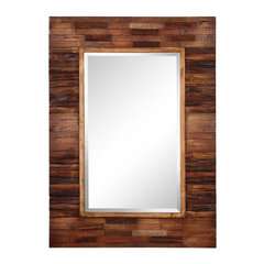 Buy Cooper Classics Blakely 42x30 Mirror in Natural Wood on sale online