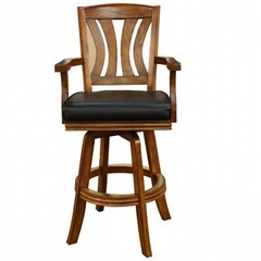 Buy American Heritage Bradbury 30 Inch Barstool in Vintage Oak on sale online