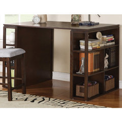 Buy Steve Silver Bradford 56x36 Writing Desk in Dark Oak on sale online