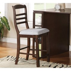 Buy Steve Silver Bradford Counter Height Stool in Dark Oak on sale online