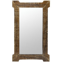 Buy Cooper Classics Branford 42x26 Mirror in Natural Rustic Wood on sale online