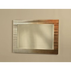 Buy NOVA Lighting Bronze Grid 44x31 Wall Mirror on sale online