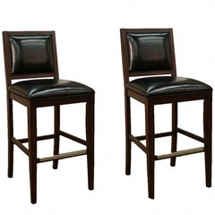 Buy American Heritage Bryant 34 Inch Tall Barstool in Espresso on sale online