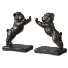 Buy Uttermost Bulldogs Bookends (Set of 2) on sale online