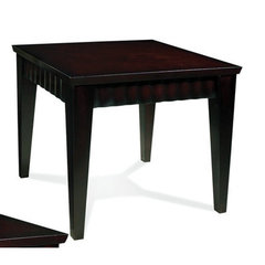 Buy Steve Silver Burton 26x24 End Table in Dark Cherry on sale online