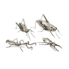 Buy IMAX Worldwide Butera Chrome Insects (Set of 4) on sale online
