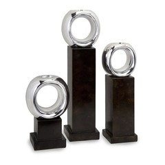 Buy IMAX Worldwide CK Ellipse Votive Holders (Set of 3) on sale online