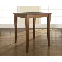 Buy Crosley Furniture Cabriole Leg 32x32 Pub Table in Classic Cherry on sale online