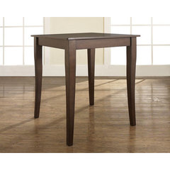 Buy Crosley Furniture Cabriole Leg 32x32 Pub Table in Vintage Mahogany on sale online