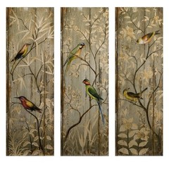 Buy IMAX Worldwide Calima Bird Wall Decor (Set of 3) on sale online