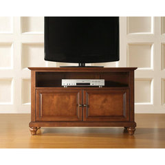 Buy Crosley Furniture Cambridge 42x18 TV Stand in Classic Cherry on sale online