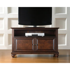 Buy Crosley Furniture Cambridge 42x18 TV Stand in Vintage Mahogany on sale online