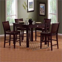 Buy Carson 5 Piece Counter Height Set on sale online