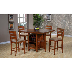Buy Canterbury Gramercy Park 5 Piece Counter Height Set on sale online