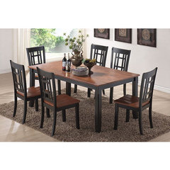 Buy Canterbury Huntington 7 Piece 70x40 Dining Room Set on sale online