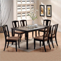 Buy Canterbury Madison 7 Piece 60x40 Dining Room Set on sale online