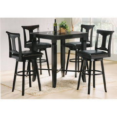 Buy Canterbury New Arcadia 5 Piece 40x40 Pub Table Set on sale online