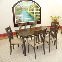 Buy Canterbury Piedmont 7 Piece 60x36 Dining Room Set on sale online