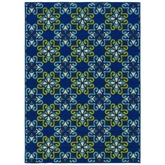 Buy Oriental Weavers Sphinx Caspian Casual Blue Rug - CSP-3331L on sale online