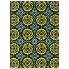 Buy Oriental Weavers Sphinx Caspian Casual Blue Rug - CSP-8328L on sale online