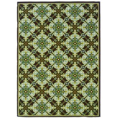 Buy Oriental Weavers Sphinx Caspian Casual Brown Rug - CSP-1005D on sale online