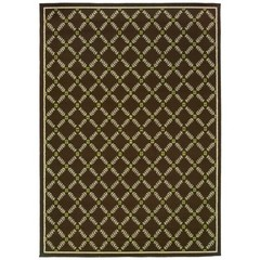 Buy Oriental Weavers Sphinx Caspian Casual Brown Rug - CSP-6997N on sale online