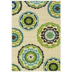 Buy Oriental Weavers Sphinx Caspian Casual Ivory Rug - CSP-859J6 on sale online