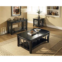 Buy Steve Silver Cassidy 3 Piece Occasional Table Set in Black on sale online