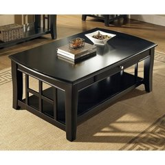 Buy Steve Silver Cassidy 50x30 Cocktail Table in Black on sale online