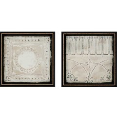 Buy Paragon Ceiling Tiles 22x22 Framed Wall Art (Set of 2) on sale online