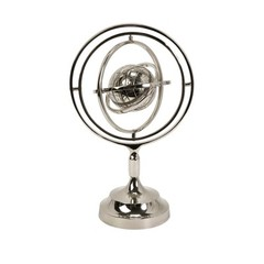 Buy IMAX Worldwide Celio Armillary in Chrome on sale online