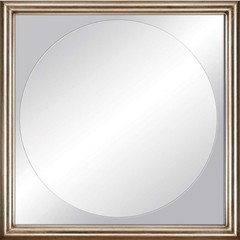 Buy Paragon Champagne Finish Modern 32x32 Mirror  on sale online