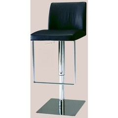 Buy Chintaly Imports 0813 Adjustable Height Swivel Stool w/ Pneumatic Gas Lift in Black on sale online
