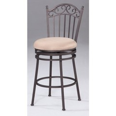Buy Chintaly Imports 26 Inch Counter Stool w/ Windsor Back and Memory Swivel on sale online